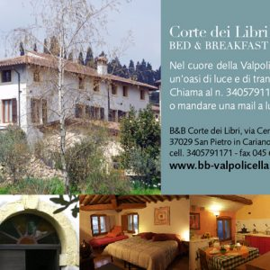 b&b, Bed and breakfast, villa giona, verona, san pietro in cariano, valpolicella